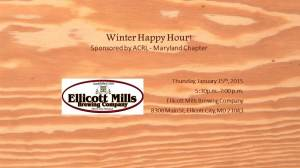 Winter Happy Hour 2015