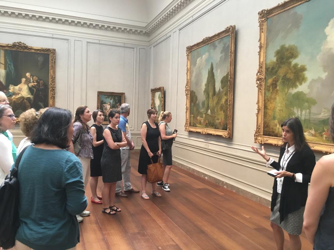 Heidi Applegate presents French painting (1)